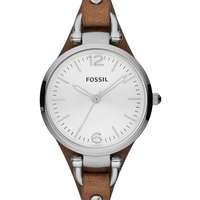 Fossil Georgia Leder 32 mm