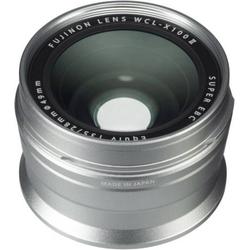 Fujifilm WCL-X100 II silber Weitwinkel-K Weitwinkel-Konverter 19mm