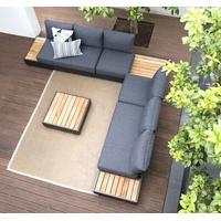 Zebra Cubo Lounge 1-Sitzer graphite