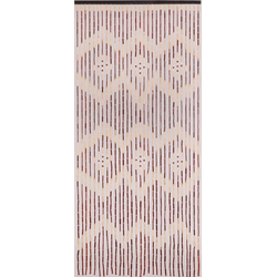 Türvorhang Türvorhang Menam Holzperlenvorhang Perlenvorhang Bambusvorhang Raumteiler Vorhang, CONACORD, handgearbeitet und lackiert