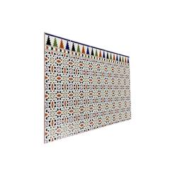 Casa Moro Fliesenaufkleber Marokkanische Wandfliesen Ceuta 28x14 cm schöne Keramikfliesen aus Marokko