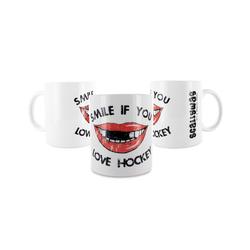 Eishockey Tasse SMILE