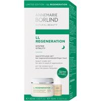 Annemarie Börlind LL Regeneration Vitalisierende Nachtcreme 50 ml + Belebendes Blütentau-Gel 15 ml Nachtpflege-Set