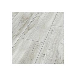 Bodenmeister Laminat Dielenoptik Eiche weiß creme, Packung, Landhausdiele 1380 x 244 mm, Stärke: 8 mm