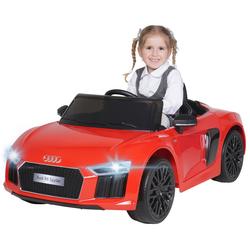 Actionbikes Motors Spielzeug-Auto Kinder Elektroauto Audi R8, inkl. Fernbedienung rot
