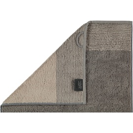 CAWÖ Luxury Home Two-Tone 590 Gästehandtuch 30 x 50 cm graphit