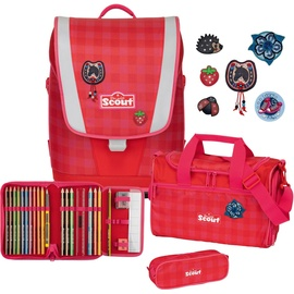 SCOUT Ultra 5-tlg. red gingham