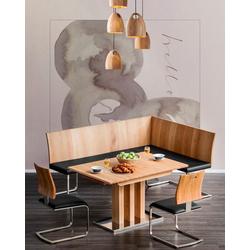 Places of Style Esstisch Tina, ausziehbar von 130 auf 180cm beige Ausziehbare Esstische Tische