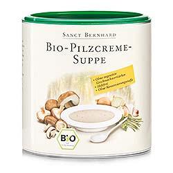 Bio-Pilzcreme-Suppe