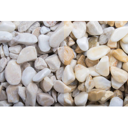 Marmor getrommelt Kristall gelb 15-25 - Big Bag 750 kg