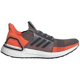 adidas Ultraboost 19 M grey four/core black/hi-res coral 43 1/3