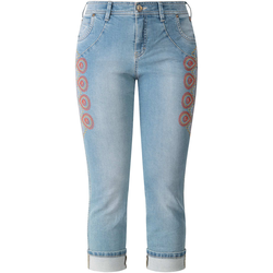 Jeans bestickt RECOVER Pants bleached
