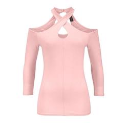Melrose Print-Shirt Melrose Damen Cut-Out-Shirt, rosé 40