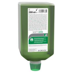 Peter Greven GREVEN® Soft B/RS Hautreinigung, Hautreinigung bei mittleren bis starken Verschmutzungen, 2000 ml - Varioflasche