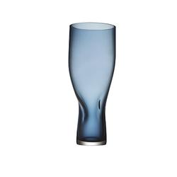 Orrefors Squeeze Vase Blau 34 cm