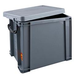 Really Useful Box Aufbewahrungsbox 19,0 l silber 39,5 x 25,5 x 29,0 cm