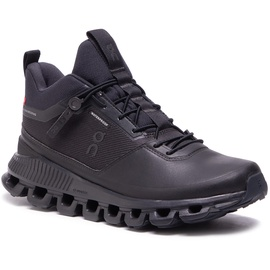 On Cloud Hi Waterproof W all black 37,5