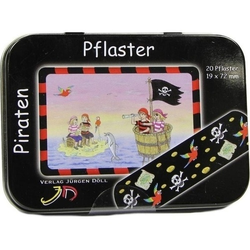 KINDERPFLASTER Piraten Dose 20 St