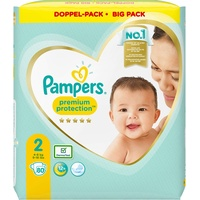 Pampers Premium Protection 4-8 kg 80 St.