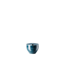 Rosenthal Zuckerdose Junto Ocean Blue Zuckerdose, Porzellan, (2-tlg)