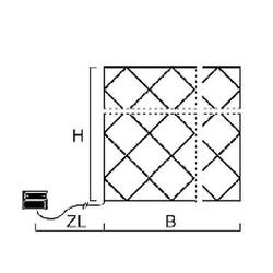 LED-Lichternetz IP44 80 flg. warmw. batteriebetrieben 3727-100