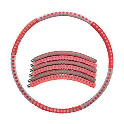 kueatily Hula-Hoop-Reifen hoola hoop reifen erwachsene,Fitness Gewichtsverlust Hula Hoop rot