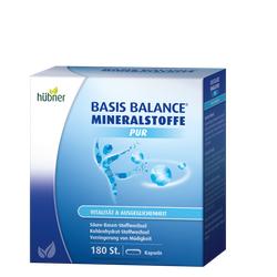 Hübner - Basis Balance® - Mineralstoffe Pur - 180 Kapseln