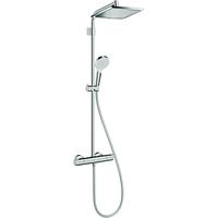 HANSGROHE Crometta E Showerpipe 240 1jet Varia chrom 26785000