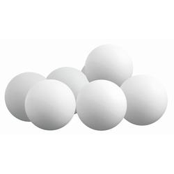 Sunflex Tischtennisball 6 Bälle Weiß 50 mm