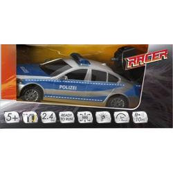 33707673 Racer R/C Polizeiwagen mit Licht, 2.4GHZ 1:18 RC Modellauto