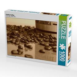 Arabica Kaffee Lege-Größe 64 x 48 cm Foto-Puzzle Bild von Tanja Riedel Puzzle