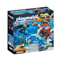Playmobil® Spielzeug-Unterwasserfahrzeug PLAYMOBIL® 70003 - Top Agents - Spy Team Sub Bot