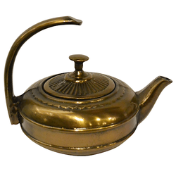 Satake Roppongi Gusseiserne Teekanne 0,4 l mit Sieb Bronze,