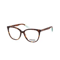 Fossil FOS 7051 086, inkl. Gläser, Cat Eye Brille, Damen