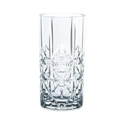 RIEDEL Glas Gläser-Set Vivant Longdrink 4er Set 375 ml, Kristallglas