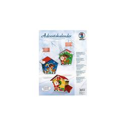 URSUS Wandkalender Kreativset Adventskalender Weihnachtsmann
