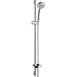 hansgrohe Stangenbrause-Set Brausestangenset Croma 100 Multi / Unica'C hansgrohe, Höhe 95.8 cm