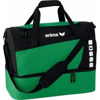 Erima Club 5 L mit Bodenfach smaragd/schwarz