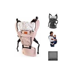 Moni Babytrage Babytrage Skyline, für Ihr Kind von 6 Monaten bis 3 Jahre, ergonomischer Sitz beige