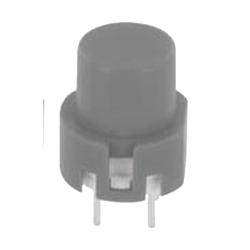 Eingabetaster 0,1 A 32 V DC, rund, grau