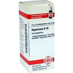 HYPERICUM D 10 Globuli 10 g