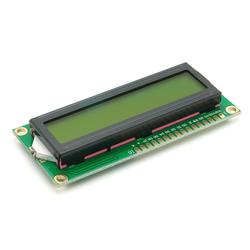 Alphanumerisches LCD 16x2, grün / gelb