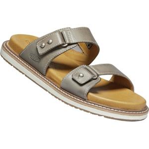 Keen Lana Slide Casual Sandalen Damen grau/beige US 11 | EU 42 2021 Freizeit Sandalen