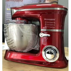 Rosenberg Kompakt-Küchenmaschine Rosenberg Kitchen Machine 2000W 5,5 L Küchenmaschine
