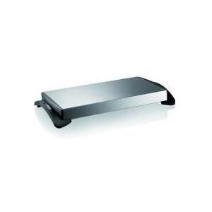 UNOLD 58815 - Warmhalteplatte schnurlos - 1100 W - Edelstahl/Schwarz (58815)
