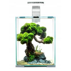 AQUAEL Nano-Aquarium Shrimp Set Smart Day&Night 20 weiss