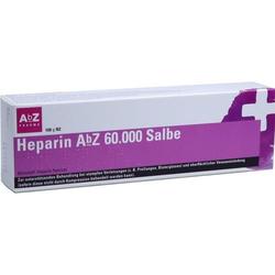 HEPARIN ABZ 60.000 Salbe 100 g