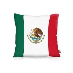 Kissenbezug, VOID, Mexiko Mexico Flagge Fahne Fan Outdoor WM Sport 80 cm x 80 cm