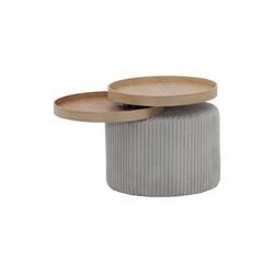 Trebela Beistelltisch Beistelltisch Trebela, Trebela Design Beistelltisch mit zwei Platten