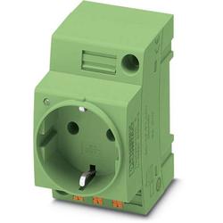 Phoenix Contact Schaltschrank-Steckdose EO-CF/PT/LED/GN Grün 1St.